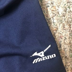 Mizuno Shorts - Navy Mizuno Spandex